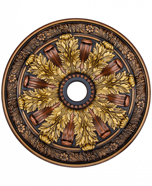 Fine Art Deco 24236 Hand Painted Ceiling Medallion